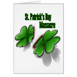 St. Patrick's Day massacre Card