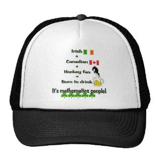 St. Patrick's Day Mathematics Trucker Hat