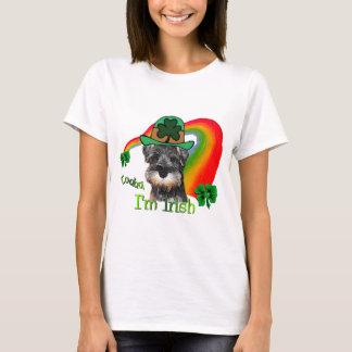 St. Patricks Day Mini Schnauzer T-Shirt