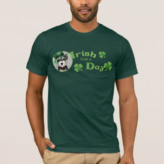 St. Patrick's Day Miniature Schnauzer T-Shirt