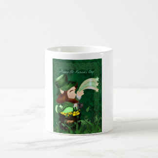 St. Patrick's Day Mug with leprachorn