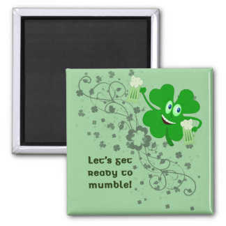 St. Patrick's Day Mumble Magnet