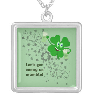 St Patrick's Day Mumble Necklace