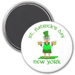 st patricks day new york gladys fridge magnets