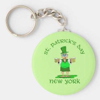 st patricks day new york gladys keychain