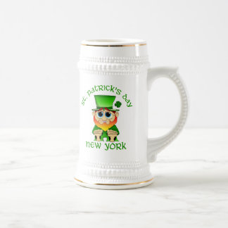 St Patricks Day ~ New York lil Blarney Beer Stein