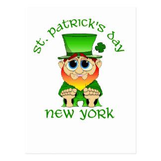 St Patricks Day ~ New York lil Blarney Postcard