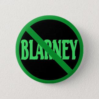St. Patrick's Day No Blarney Allowed Pinback Button