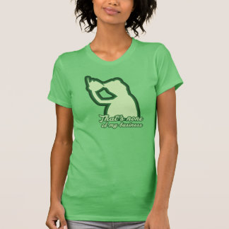 St. Patrick's Day None Of My Business Tee