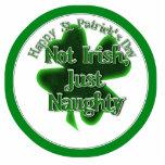 St Patrick's Day  - Not Irish, ,Just Naughty Photo Cutouts