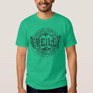 St Patricks Day O'reilly Drinking Team Retro Fade T-Shirt