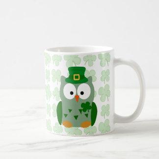 St. Patrick's Day Owl Coffee Mug