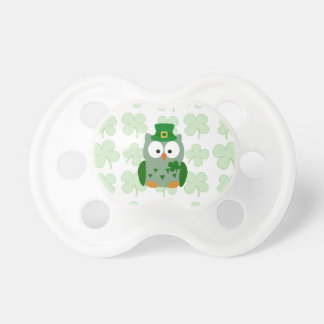 St. Patrick's Day Owl Pacifier