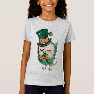 aae4de5ab St Patricks Day Owl T-Shirts - T-Shirt Design & Printing | Zazzle