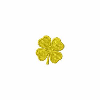 St. Patricks Day Parade Gold Clover long Sleeve