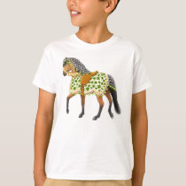 St Patricks Day Parade Horse Kids T-Shirt