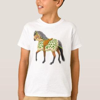 St Patricks Day Parade Horse Kids T-Shirt