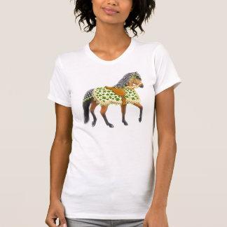 St Patricks Day Parade Horse Scoop Neck Shirt