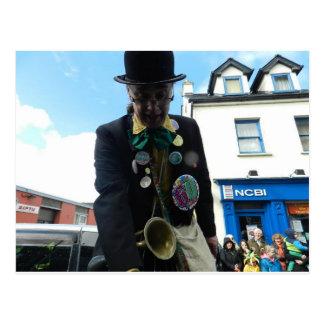 St.Patrick's Day Parade in Ennis - Ireland Postcard