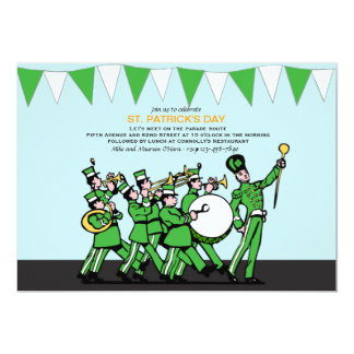 St. Patrick's Day Parade Invitation
