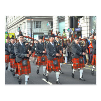 St Patrick's Day Parade, London Postcard