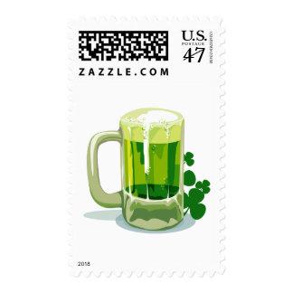 St Patricks Day Parade Tuscon Postage Stamp