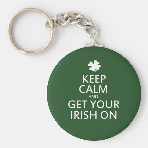 St Patricks day Parody Key Chain