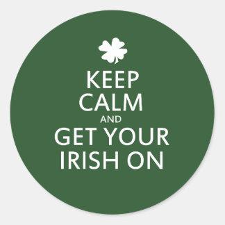 St Patricks day Parody Stickers