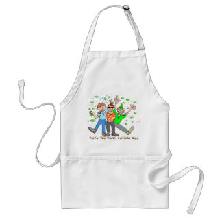 St Patrick's Day Party Aprons