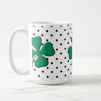 St. Patrick's Day Party Classic White Coffee Mug