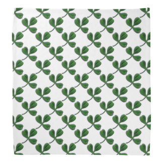 ST PATRICK'S DAY PARTY GREEN IRISH SHAMROCK BANDANA