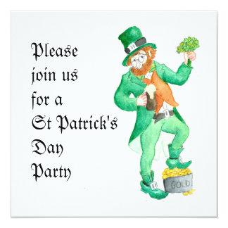 St Patrick's Day Party Invitation