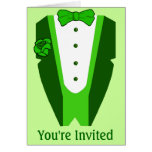 St. Patrick's Day party invitation Greeting Card