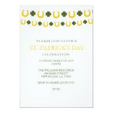 St. Patrick's Day Party Invitations at Zazzle