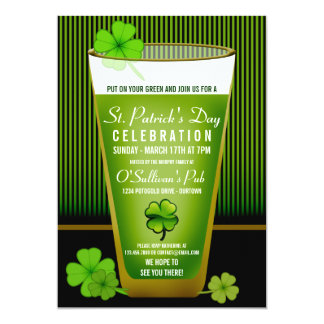 St. Patricks Day Party Invitations