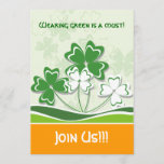 St. Patrick's Day Party Invitations