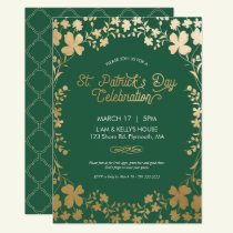St. Patrick's Day Party Invite - Custom Card
