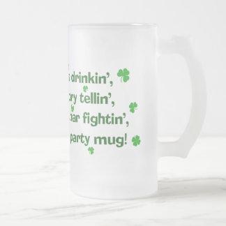 St. Patrick's Day Party Mug