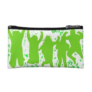 St Patricks Day Party Poster Makeup Bag