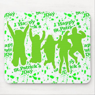 St Patricks Day Party Poster Mouse Pad