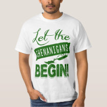 St Patrick's Day Party Shenanigans T-Shirt