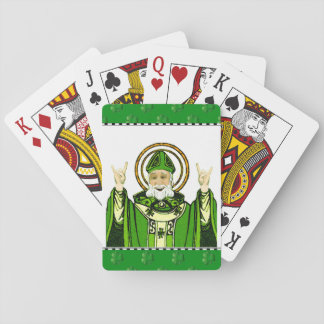 st patricks day party supplies playing cards