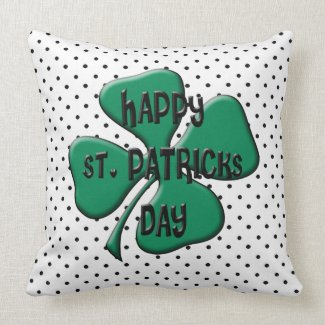 St. Patrick's Day Party Throw Pillows