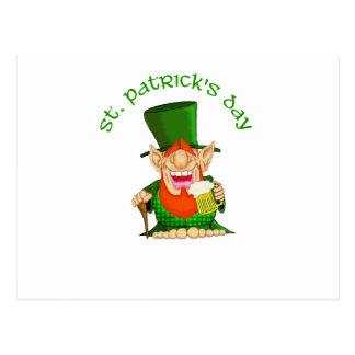 St Patrick's Day ~ Patty O'Party Postcard