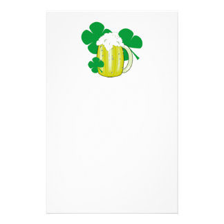 St Patrick's Day Personalized Stationery