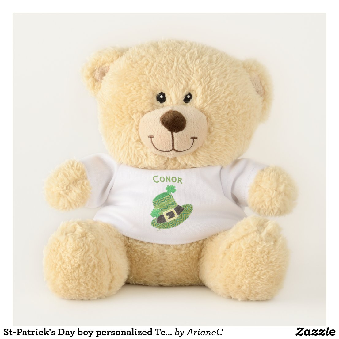 St-Patrick's Day Teddy bear