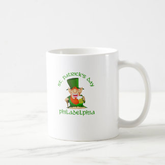 St Patricks Day ~ Philadelphia Coffee Mug