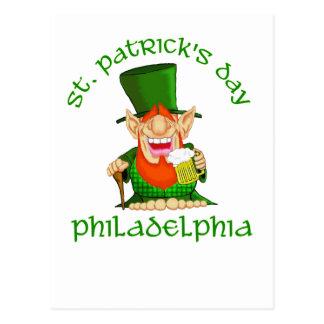 St Patricks Day ~ Philadelphia Postcard