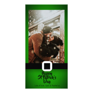 St Patrick's Day Photo Card