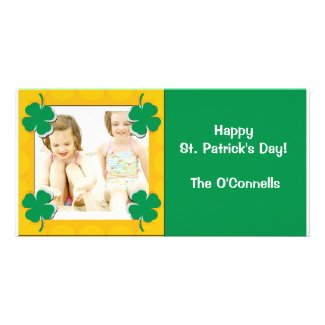 St. Patrick's Day photocard